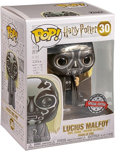 Funko POP #30 Harry Potter Lucius Malfoy Death Eater Exclusive