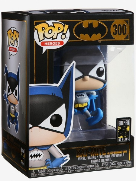 Funko POP #300 Heroes Bat-Mite 1st Appearance 1959 Figure