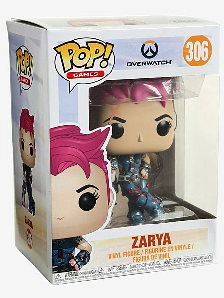 Funko POP #306 Games Overwatch Zarya Figure
