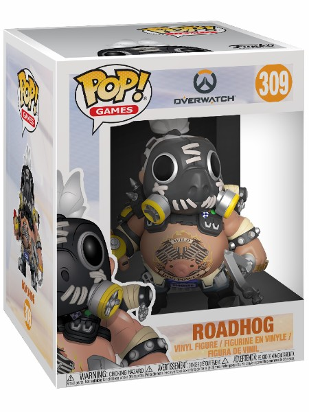 Funko POP #309 Overwatch Roadhog 6 Inch Figure