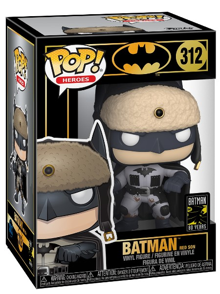Funko POP #312 Heroes Batman Red Son Figure