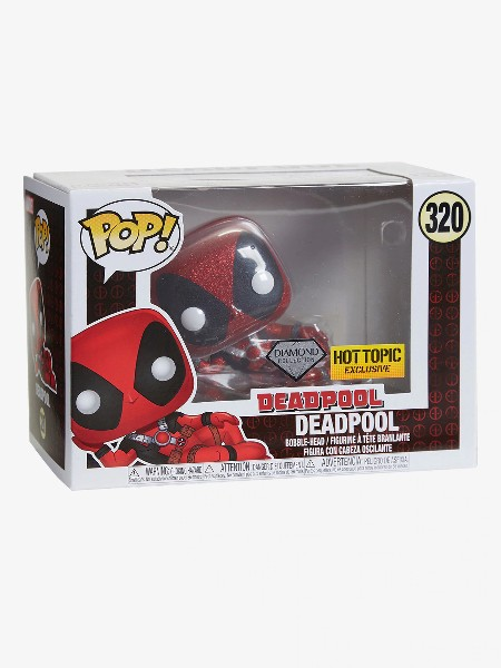 Funko POP #320 Deadpool Diamond Exclusive Figure