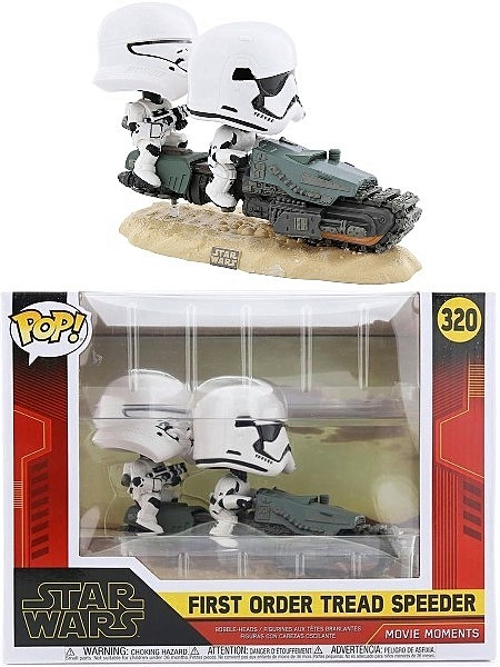 Funko POP #320 Movie Moments Star Wars First Order Tread Speeder