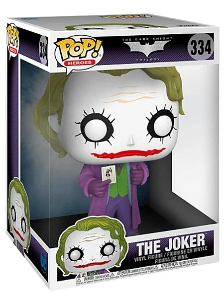 Funko POP #334 The Dark Knight Trilogy The Joker 10 Inch Figure
