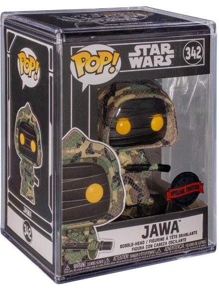 Funko POP #342 Star Wars Jawa Futura Exclusive Figure