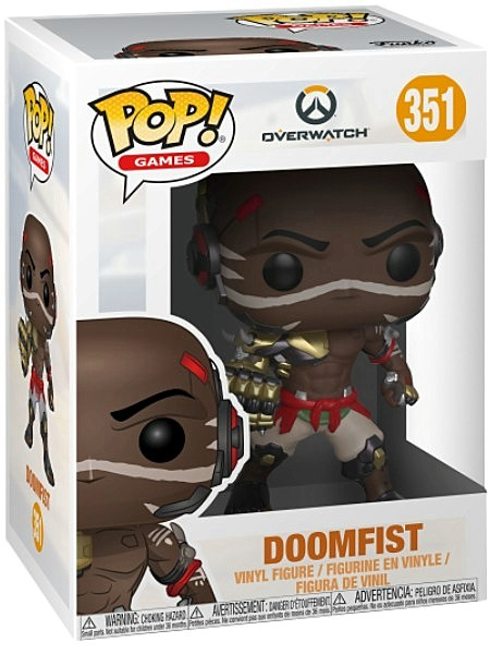 Funko POP #351 Games Overwatch Doomfist Figure