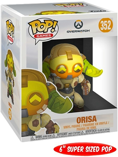 Funko POP #352 Games Overwatch Orisa 6 Inch Figure