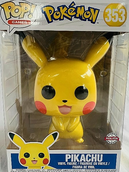 Funko POP #353 Pokemon Pikachu 10 Inch Exclusive Figure