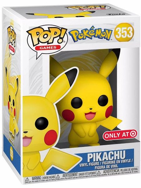 Funko POP #353 Pokemon Pikachu Exclusive Figure
