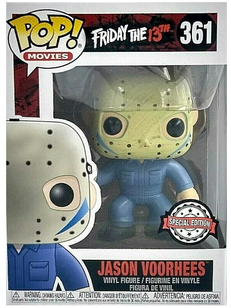 Funko POP #361 Friday the 13th Jason Voorhees Jumpsuit Exclusive