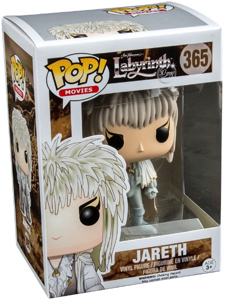 Funko POP #365 Labyrinth Jareth with Orb Exclusive Figure