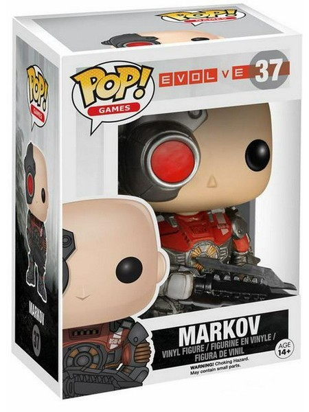Funko POP #37 Games Evolve Markov Figure