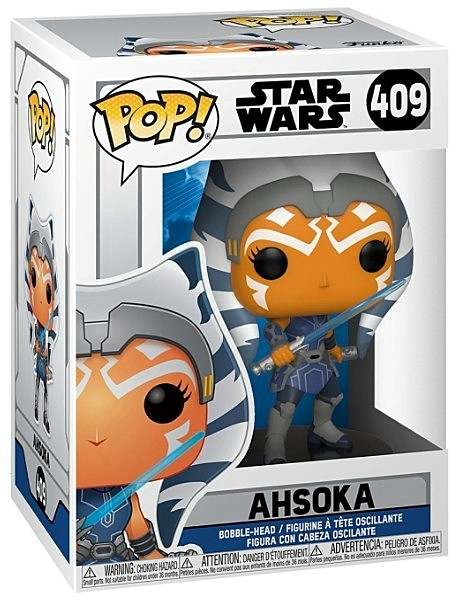 Funko POP #409 Star Wars The Clone Wars Ahsoka Figure