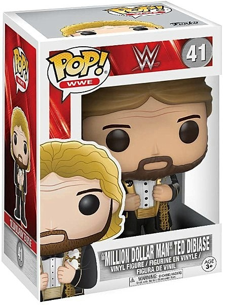 Funko POP #41 WWE Ted DiBiase Million Dollar Man Figure