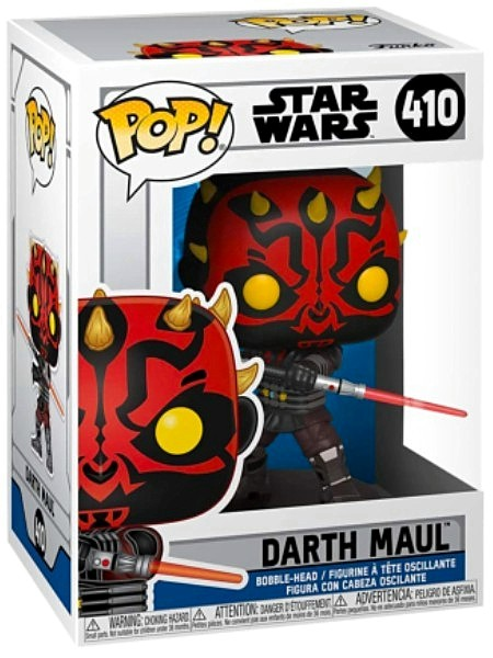 Funko POP #410 Star Wars The Clone Wars Darth Maul Figure
