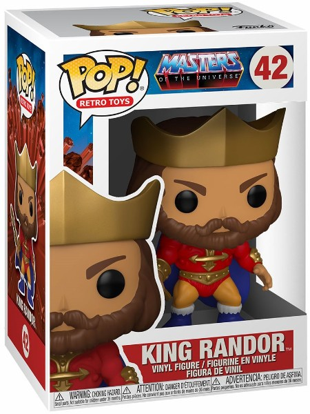 Funko POP #42 Masters of the Universe King Randor Figure