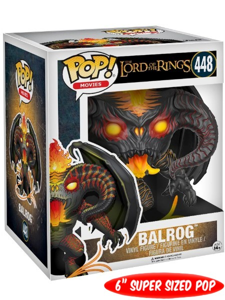 Funko POP #448 The Lord of the Rings Balrog 6 Inch Figure