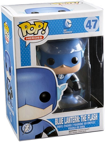 Funko POP #47 Heroes DC Comics Blue Lantern The Flash Exclusive