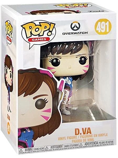 Funko POP #491 Games Overwatch Series 5 D.Va Figure