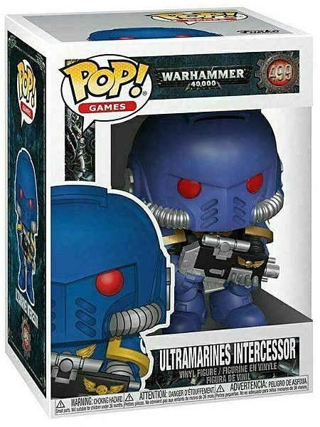 Funko POP #499 Warhammer 40K Ultramarines Intercessor Figure