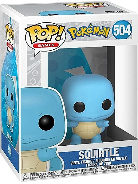 Funko POP #504 Pokemon Squirtle Figure