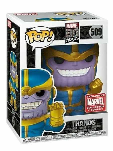 Funko POP #509 Marvel 80 Years First Appearance Thanos Exclusive
