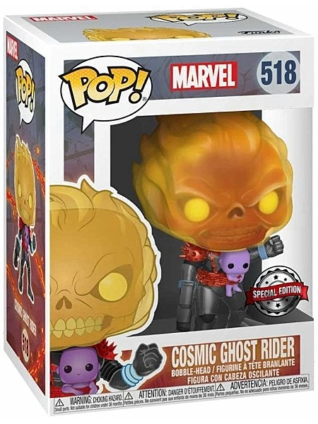 Funko POP #518 Marvel Cosmic Ghost Rider Exclusive Figure