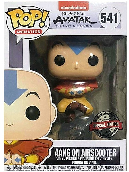 Funko POP #541 Avatar The Last Airbender Aang on Airscooter
