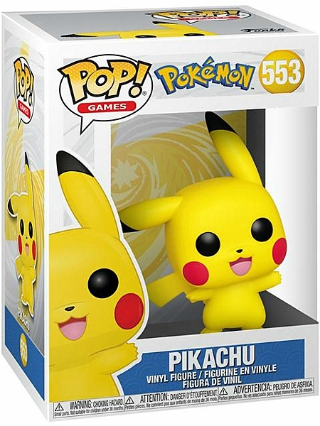 Funko POP #553 Pokemon Pikachu Waving Figure