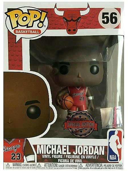 Funko POP #56 NBA Michael Jordan Rookie Uniform Exclusive Figure