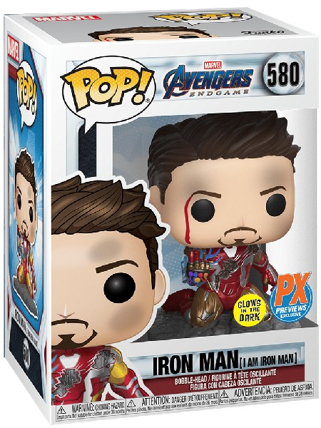 Funko POP #580 Marvel Avengers Endgame I Am Iron Man Exclusive
