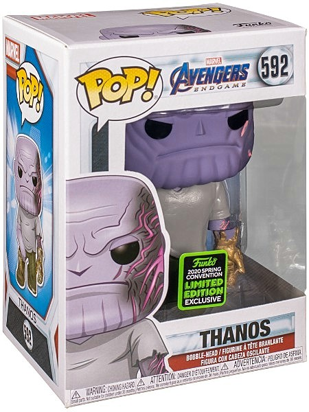 Funko POP #592 Marvel Avengers Endgame Thanos Exclusive Figure