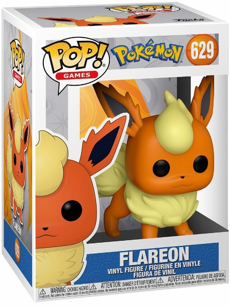 Funko POP #629 Pokemon Flareon Figure