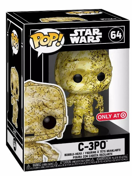 Funko POP #64 Star Wars C-3PO Futura Exclusive Figure