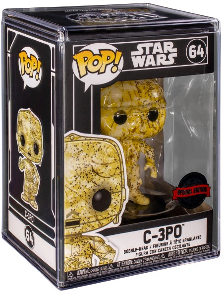 Funko POP #64 Star Wars C-3PO Futura SE Exclusive Figure