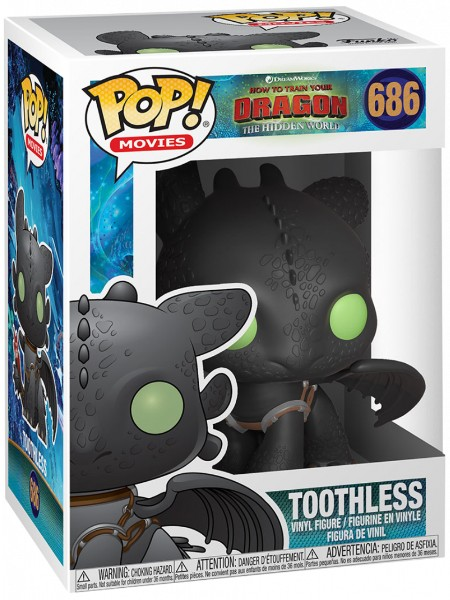 Funko POP #686 How to Train Your Dragon 3 Toothless Figure