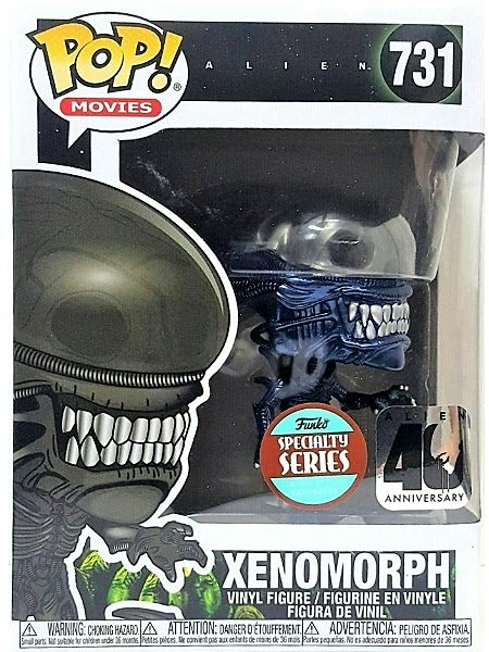 Funko POP #731 Alien Xenomorph Blue Metallic SS Exclusive Figure