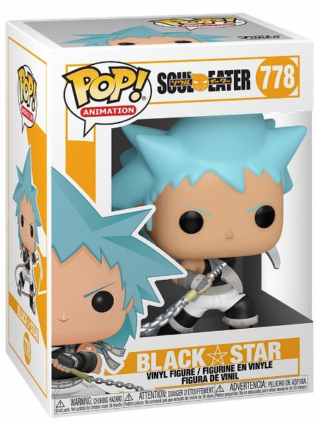 Funko POP #778 Soul Eater Black Star Figure