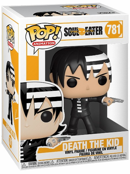 Funko POP #781 Soul Eater Death The Kid Figure