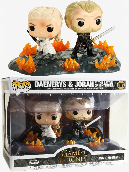 Funko POP #86 Game of Thrones Daenerys and Jorah Movie Moments