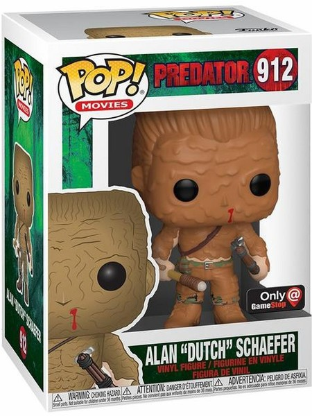 Funko POP #912 Movies Predator Dutch Muddy Exclusive