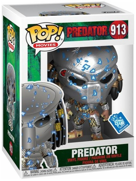 Funko POP #913 Movies Predator Half Cloak Exclusive