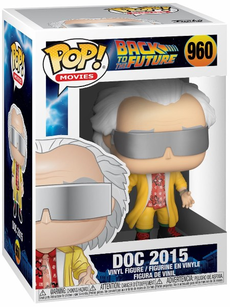 Funko POP #960 Back To The Future Part II Doc 2015 Figure
