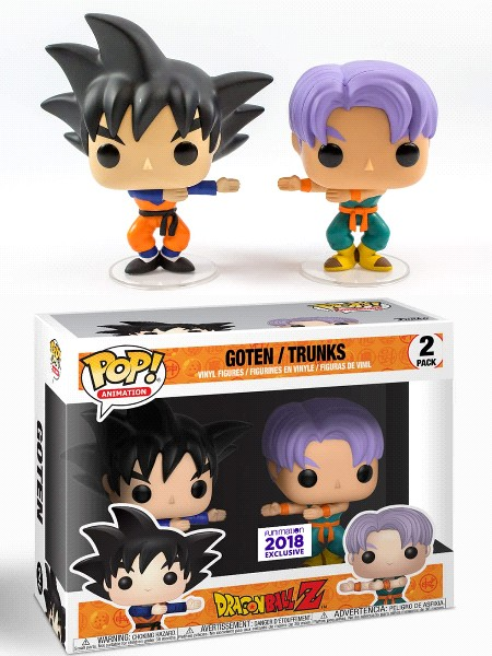 Funko POP! Dragonball Z Goten/Trunks Fusion 2 Pack Exclusive
