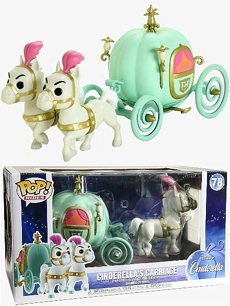 Funko POP Rides #78 Disney Cinderella Carriage Figure