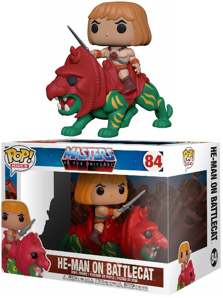 Funko POP Rides #84 Masters of the Universe He-Man on Battle Cat