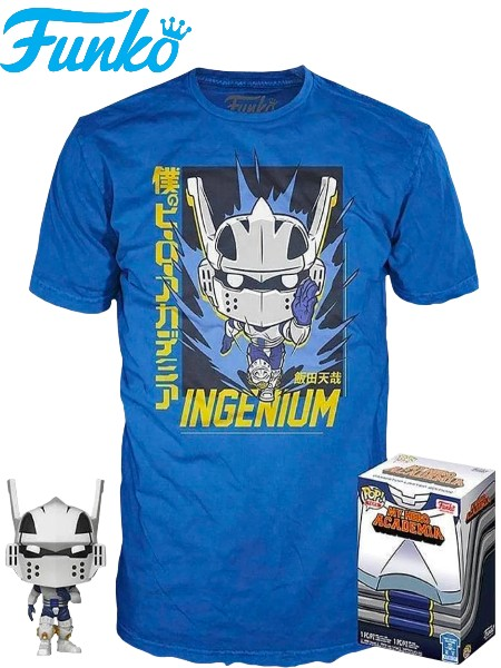 Funko POP and T-Shirt My Hero Academia Tenya Exclusive Large