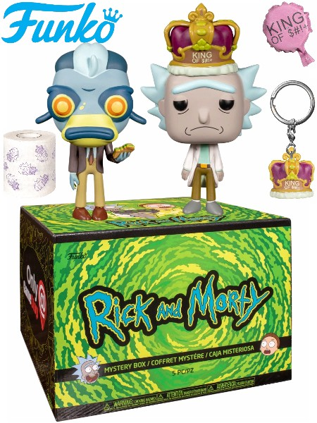 Funko POP Rick and Morty Kong of Sh!t Mystery Box