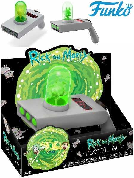 Funko Rick and Morty Portal Gun Life-Size Replica