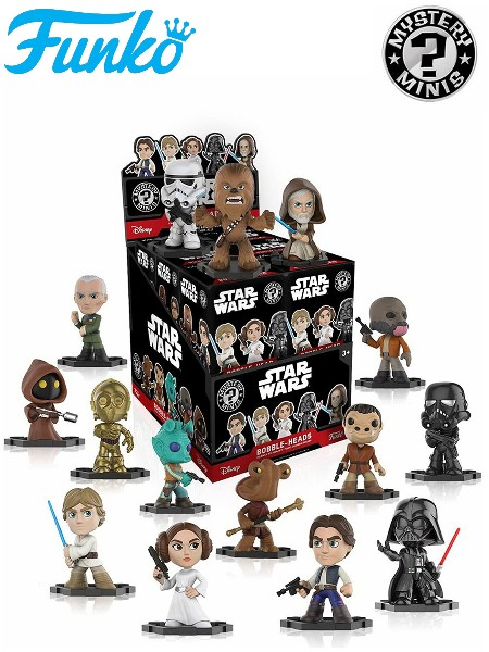 Funko Star Wars Classic Mystery Minis Case of 12 Figures